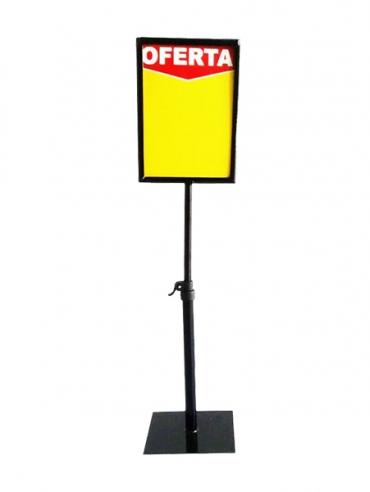 Suporte para Cartaz de Supermercados 15x21cm